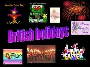 британские праздники презентация