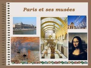о парижских музеях презентация