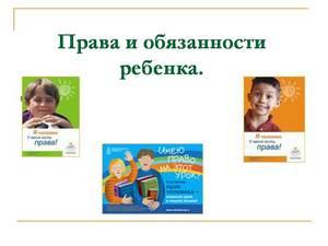 о правах ребенка презентация